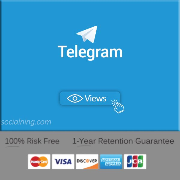 buy telegram post views